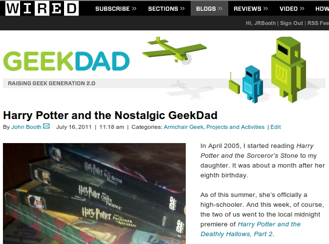 Harry Potter GeekDad