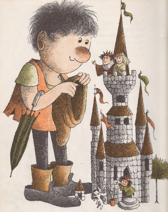 Giant John by Arnold Lobel  - castle
